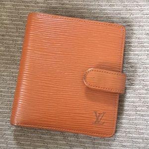 610d6deb964d ... LV epi leather wallet ...
